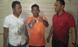 Tinggal di Tanjung Putus, Nyabu di Desa Bogak, Senang syahputra 'Tidur' Dikantor Polisi