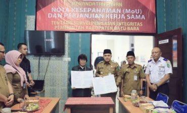 Survei Integritas KPK RI, Pemkab Batubara Gandeng BPS
