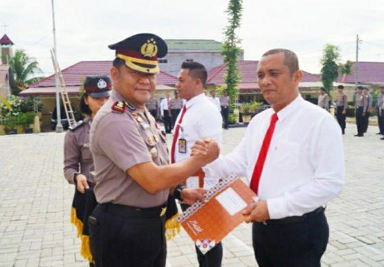 37 Personil Polres Batubara Dapat Reward