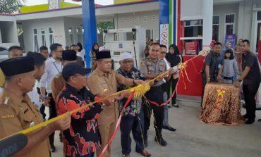 Resmikan SPBU Pulau Sejuk, Zahir Ingatkan Warga Jangan Ada Kutipan pada Investor