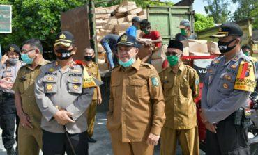 Bantuan JPS Sumut Tiba, Zahir Salurkan 5100 ke Dua Kecamatan di Batubara