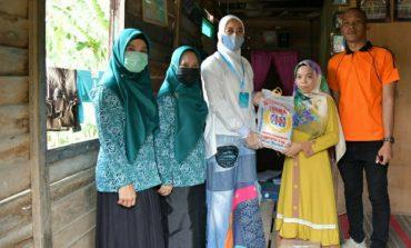Bunda PAUD Maya Zahir Salurkan Sembako Kepada Guru PAUD