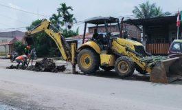 Mulai Legah, Proyek Median Jalan Tanjung Tiram Dikerjakan
