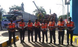 Jembatan Timbang Dolok Estate Lima Puluh Jaring Satu Unit Kenderaan Tronton Overload