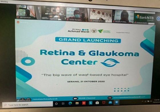 Wapres Ma'ruf Amin Resmikan Retina dan Glaukoma Center