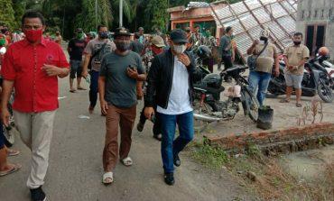 Angin Puting Beliung 'Mengamuk', 5 Rumah Hancur di Tanjung Seri