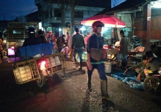 Begini Kondisi Pasar Tradisionil di Tanjung Tiram