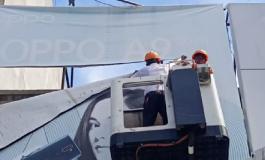 Tak Ta'at Pajak, 20 Papan Reklame di Batubara Diturunkan