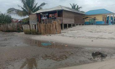 Kelurahan Bagan Arya Terancam Tenggelam