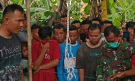 Diduga Candu Ngelem, Dodol Tewas Gantung Diri Di Pohon Mangga