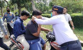 Sosialisasi Prokes, Dishub Bagikan 5000 Masker ke Pengendara Lalu Lintas