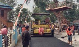 Dua Tahun Zahir Fokus Infrastruktur Jalan, Ekonomi Masyarakat Meningkat